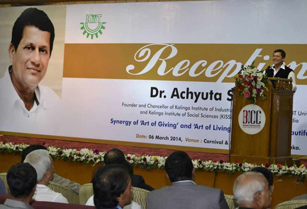 Two Honorary D.Litt Awards for KIIT Founder from Foreign Universities