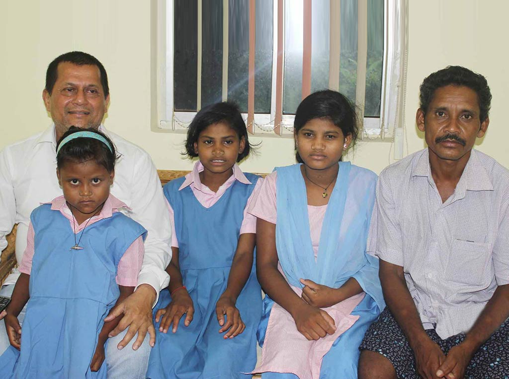 KISS to Provide Education to Dana Majhi's Daughters. KISS Branch to Open in Kalahandi