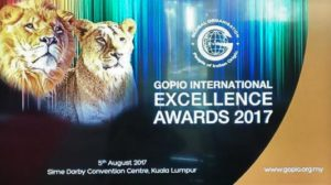GOPIO International Excellence Award 2017