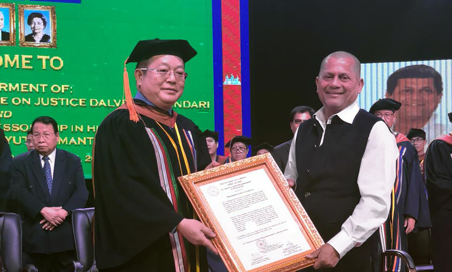 University of Cambodia Honours Achyuta Samanta with Distinguished Professorship