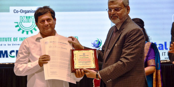 Dr. Achyuta Samanta conferred with CSI Lifetime Achievement Award
